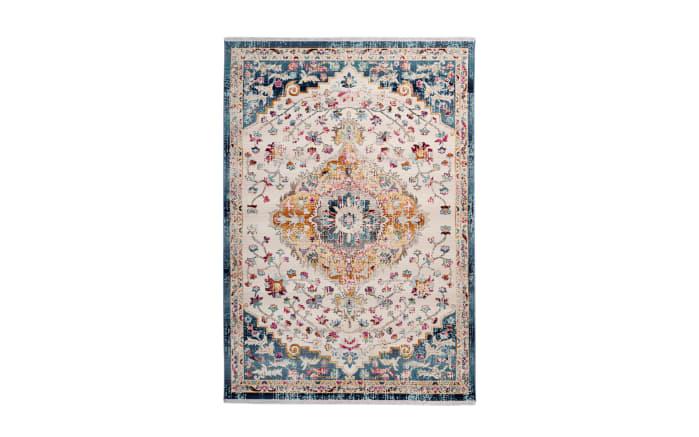 Teppich Anouk 1025 in weiß/blau, 80 x 150 cm