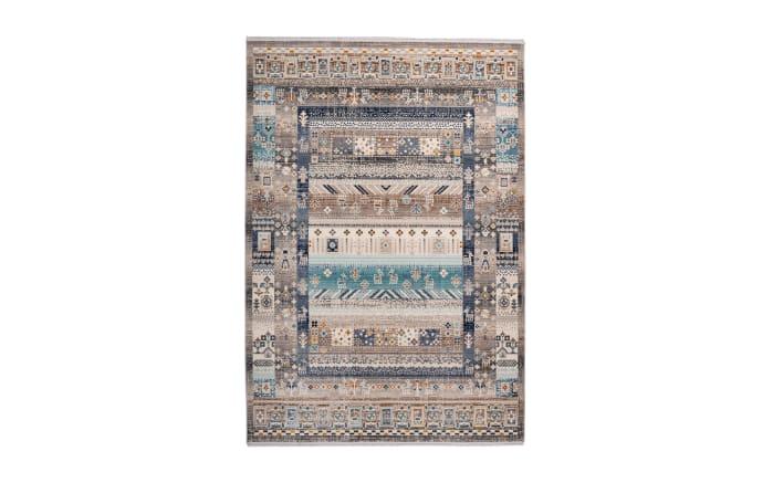 Teppich Anouk 525 in braun/blau, 200 x 290 cm