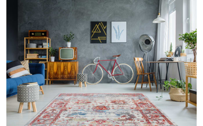 Teppich Antigua 100 in multi, 200 x 290 cm