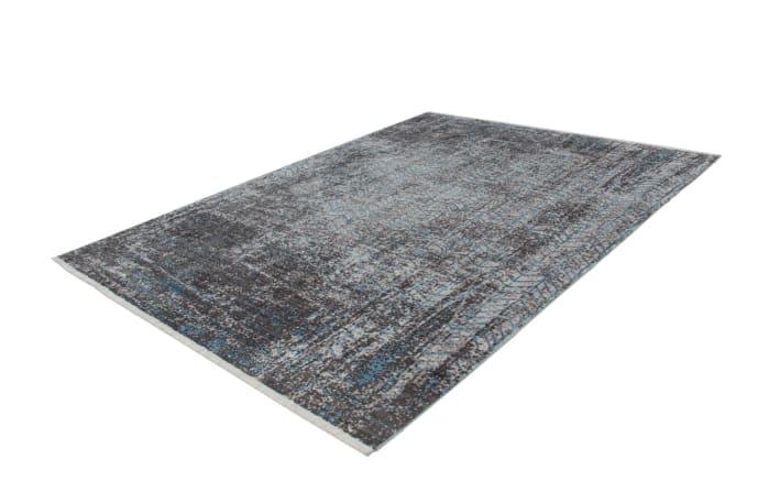 Teppich Antigua 300 in grau-türkis, 120 x 170 cm-03