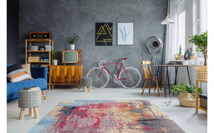 Teppich Antigua 400 in multi, 80 x 150 cm