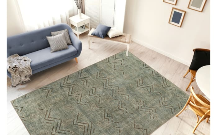 Teppich Antique 325 in khaki, 120 x 180 cm-02