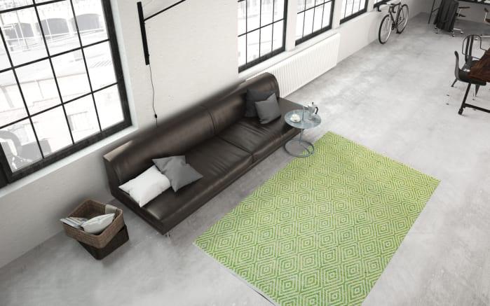 Teppich Aperitif 310 in grün, 120 x 170 cm