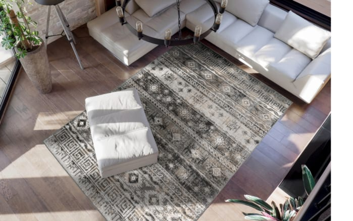 Teppich Ariya 325 in grau, 120 x 170 cm-02