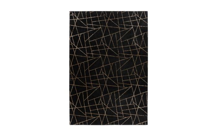 Teppich Bijou 125 in schwarz/gold, ca. 160 x 230 cm-01