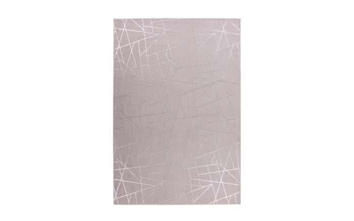 Teppich Bijou 125 in taupe/silber, ca. 120 x 170 cm-01