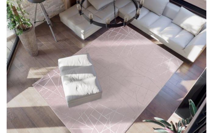 Teppich Bijou 125 in taupe/silber, ca. 120 x 170 cm-02