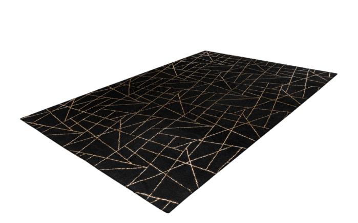 Teppich Bijou 125 in schwarz/gold, ca. 120 x 170 cm-03