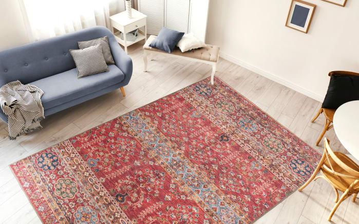 Teppich Faye 325 in multi/rot, ca. 110 x 180 cm-02