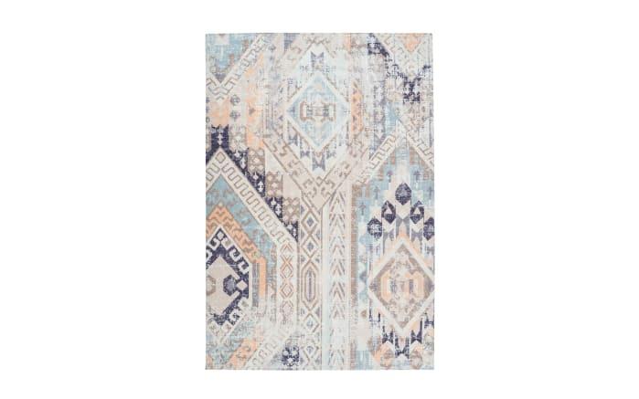 Teppich Indiana 200 in multi-blau, 80 x 150 cm-01