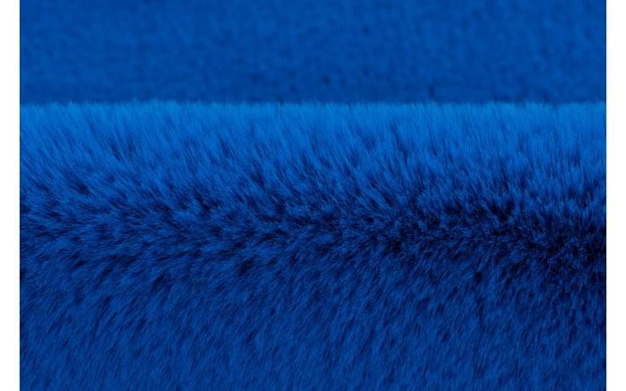 Hochflorteppich Star in blau, 60 x 63 cm-04