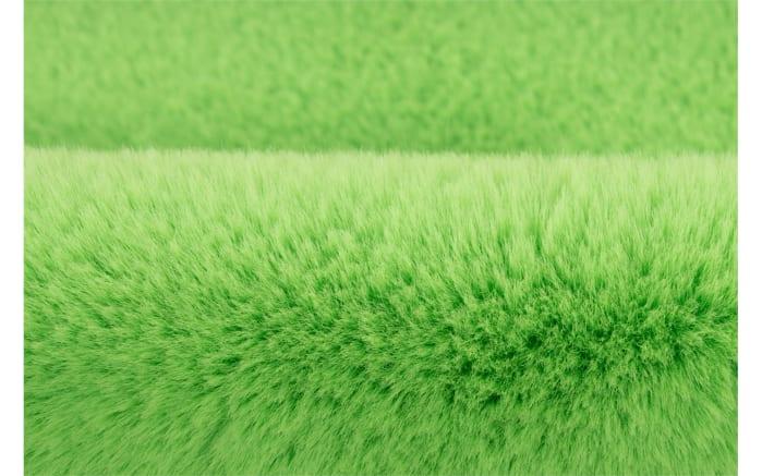 Hochflorteppich Star in grün, 60 x 63 cm-04