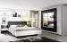 Schlafzimmer Focus/Nicole in weiß/basalt
