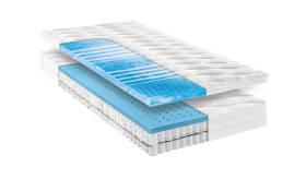 Matratze Flex Komfort Gelart 1000T in 90 x 200 cm, H3