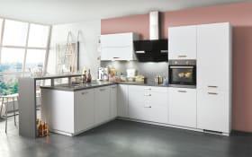 Einbauküche Loft in weiß, Siemens Geschirrspüler SN614X00AE