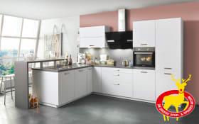Einbauküche Loft in weiß