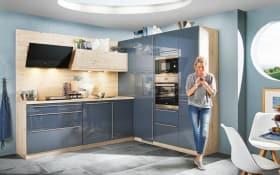 Einbauküche Fresh in blau