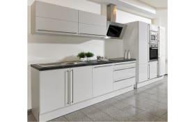 Einbauküche Arctica II in seidengrau, Siemens-Geschirrspüler