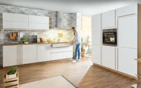 Einbauküche 2312 Fresh in Hochglanz weiß