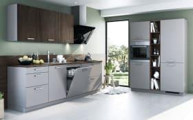 Einbauküche Turin in grau