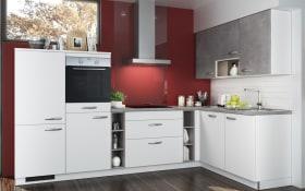 Einbauküche Sigma in weiß, Miele-Geschirrspüler