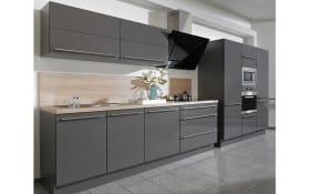 Einbauküche Sigma in grau, Neff-Geschirrspüler