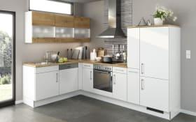 Einbauküche Eco Lack in weiß