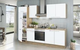 Einbauküche Turin in weiß