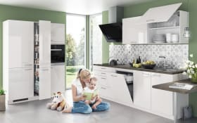 Einbauküche Eco in grau