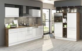 Marken-Einbauküche Eco in weiß