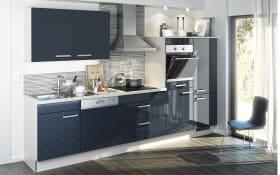 Einbauküche Eco in blau