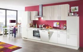 Einbauküche Riva in weiß