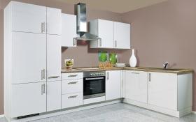 Einbauküche Flash in grau, Siemens-Geschirrspüler