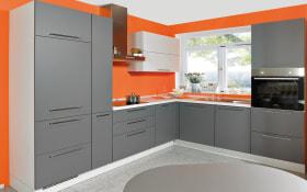 Einbauküche Touch in schiefergrau supermatt, Siemens-Geschirrspüler