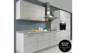 Einbauküche Riva in grau, Siemens-GeschirrspülerSN614X00AE