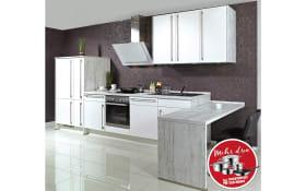 Einbauküche Focus 460 in Lack weiß