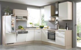 Einbauküche Speed in weiß softmatt