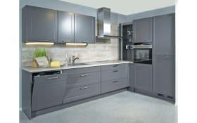 Einbauküche Credo in grau