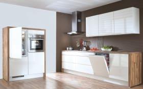 Einbauküche Pura in weiß, Progress-Geräte