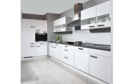 Einbauküche Flash Hochglanz weiß