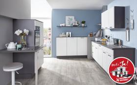 Einbauküche Speed weiß softmatt, Leonard Geschirrspüler LV1526