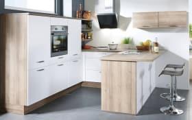 Einbauküche Touch in alpinweiß supermatt