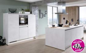 Einbauküche Riva in Weissbeton