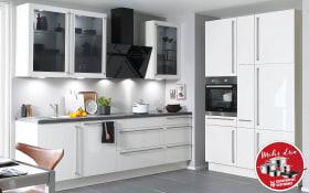 Einbauküche Flash in weiß, Leonard-Geschirrspüler LV1526