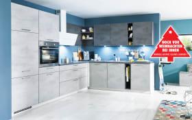 Einbauküche Riva in weiß, AEG Backofen