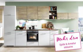 Einbauküche Touch in magnolia supermatt