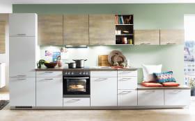 Einbauküche Touch in magnolia supermatt, Miele-Geschirrspüler G4380VI