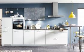 Einbauküche Speed in alpinweiß, AEG-Geschirrspüler