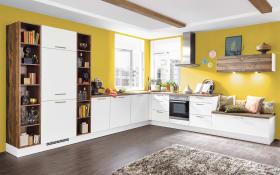 Einbauküche Speed in alpinweiß, Miele-Geschirrspüler