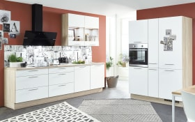 Einbauküche Speed 244, alpinweiß, inklusive Elektrogeräte